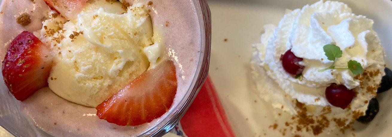 Aardbei Romanoff | Desserts | Prinsheerlijketen.nl